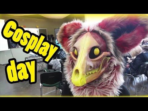 Fursuiting at Cosplay day