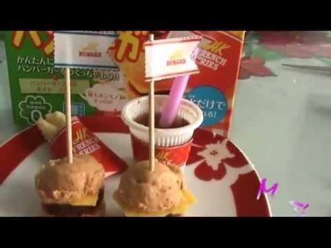 Comida miniatura Hamburguesa de Ma  YouTube