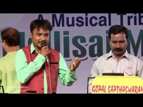 Mukesh & Pandian - KASIKKU POGUM for GOPAL SAPTHASWARAM, Best Light Music Orchestra