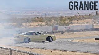 Desert Drifting a Go Cart Track