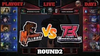 MOBILE LEGENDS MPL MY SG S4 PLAYOFFS GUSION SOLOZ LEGENDARY BOSSKUR VS NOTORIOUS ROUND2