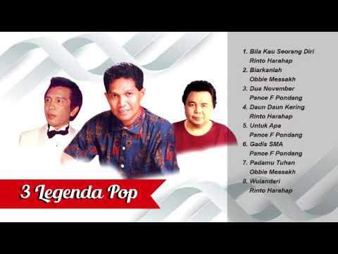 Free Download 3 Legenda Pop Obbie Messakh, Pance Pondang, Dan Rinto Harahap Mp3 dan Mp4