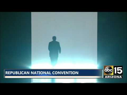 Republican National Conventional: What an intro! DONALD TRUMP - We are the champions!
