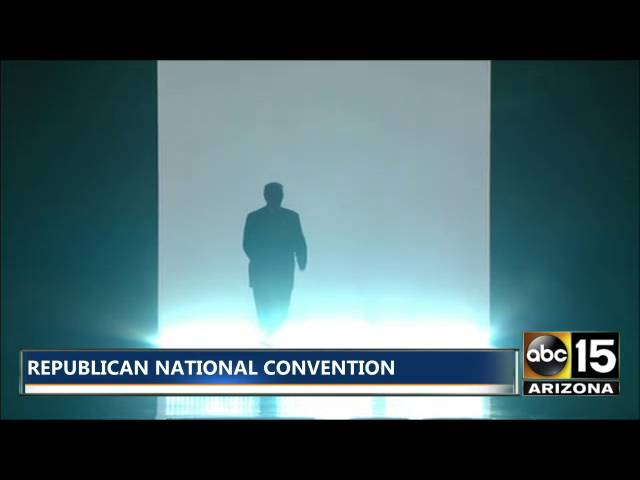 Republican National Conventional What An Intro Donald Trump We Are The Champions