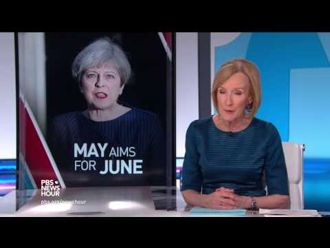 Is U.K.'s May taking a risk by calling for snap elections?