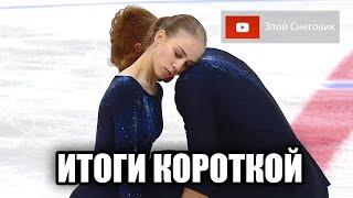 ИТОГИ КОРОТКОЙ ПРОГРАММЫ Пары Кубок России 2020 в Сызрани Парное Катание