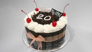 Download Video Black Forest Cake Decoration Easy MP3 3GP MP4