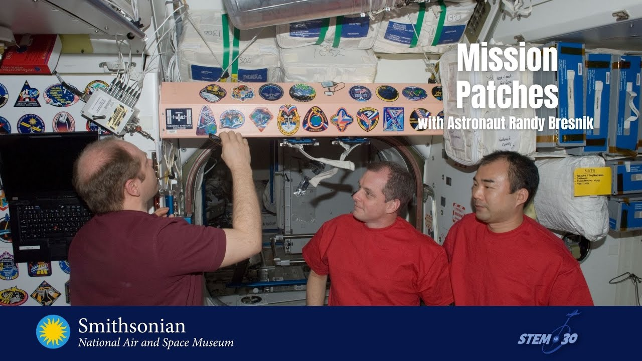Make Your Own Astronaut Mission Patch