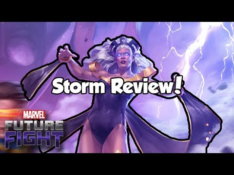 Storm Review! - Marvel Future Fight