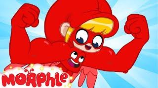 SUPERHERO Mila - My Magic Pet Morphle | Cartoons For Kids | Morphle TV | BRAND NEW thumbnail
