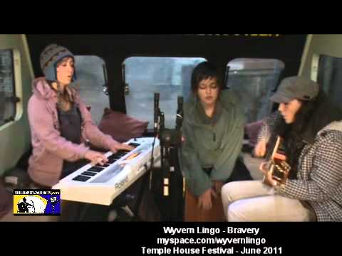 Wyvern Lingo - Bravery - Temple House Festival - Band Wagon Tv - June 2011
