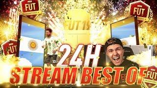 FIFA 19: Mein BESTES Pack 😱🔥 Best OF 24 Stunden Stream