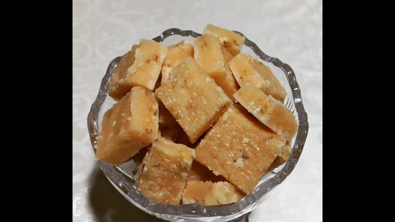 Südsüz ici qozlu çox dadlı ev de bişme qendin hazirlanmasi Homomade sugar recipe