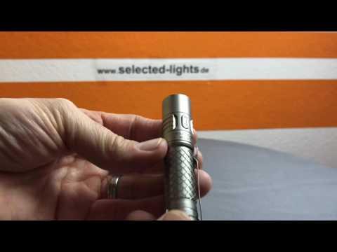 Klarus MI7 Titan EDC AA Taschenlampe