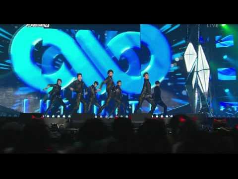 111229 SBS Gayo Daejun - MBLAQ & INFINITE - Special Stage