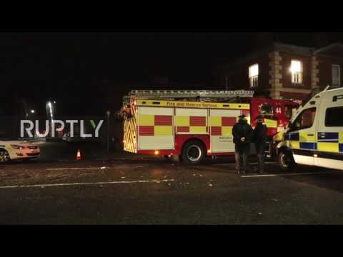 UK: Police And Fire Services Surround Bedford Prison Amid 'prison Riot'
