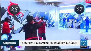 Toronto's first augmented reality arcade has opened