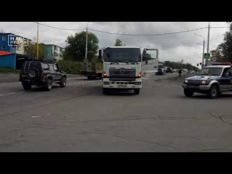 Грузовик сбил девушку на Камчатке   Новости сегодня   Происшествия   Масс Медиа