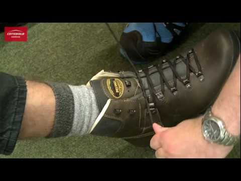 An expert boot-fitting service Cotswold Outdoor