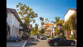 городок Санта Барбара Калифония США