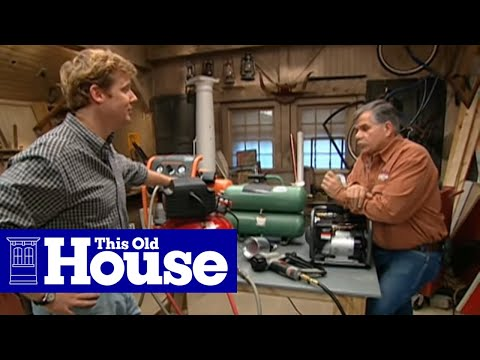 How to Choose and Use an Air Compressor - This Old House