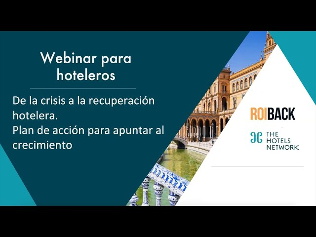 Webinar - The Hotels Network y Roiback