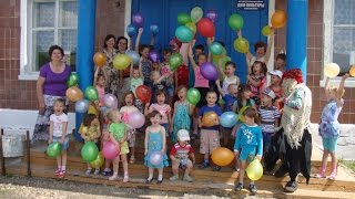 День защиты детей в Доме культуры с Красная Речка  -  2015