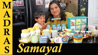 Kitchen Collections in Tamil - Madras Samayal | Kitchen Cookware Collection in Tamil