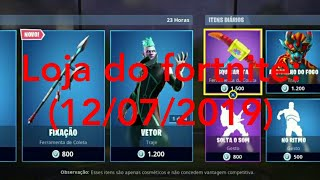 Loja do Fortnite (12\07\2019).......Fortnite Battle royale!!!