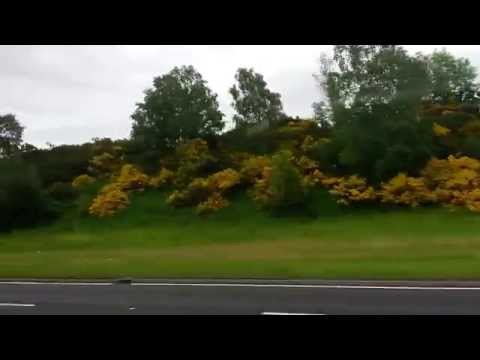 Bus ride from Inverness, Scotland