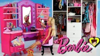 Barbie Tocador de Maquillaje con Luces y Sonidos - Rutina de Mañana