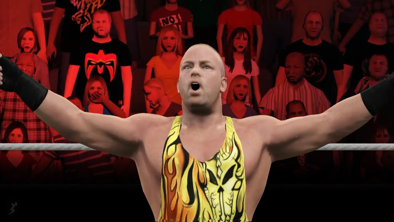 WWE 2K15 Rob Van Dam vs Dolph Ziggler | Extreme Rules | Ft. RVD OMG Moves | PS4 Gameplay