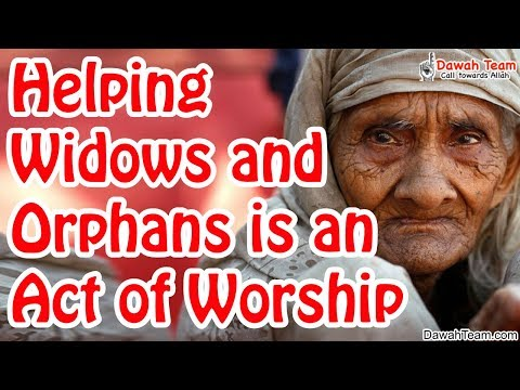 Helping widows and orphans is an act of Worship ᴴᴰ ┇Mufti Menk┇ Dawah Team