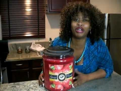 GloZell loves Goose Creek Candles