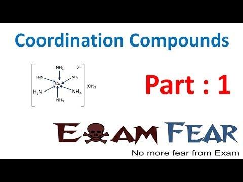 Chemistry Coordination Compounds part 1 (Introduction) CBSE class 12 XII