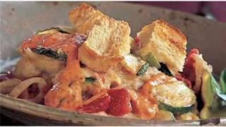 I Heart My Stand Mixer - Zucchini Casserole With Red Pepper Aioli