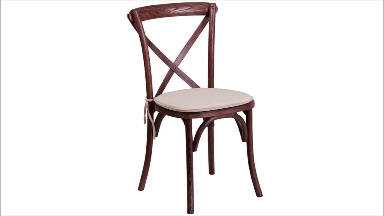 Stack Chairs Cross Back @ Z Furniture Alexandria Virginia