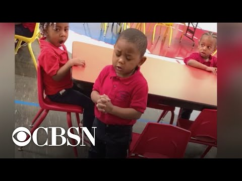 3-year-old boy's prayer for Pre-K class goes viral