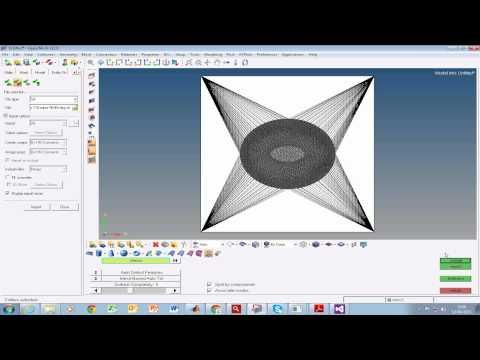 Remeshing a STL file using Hypermesh
