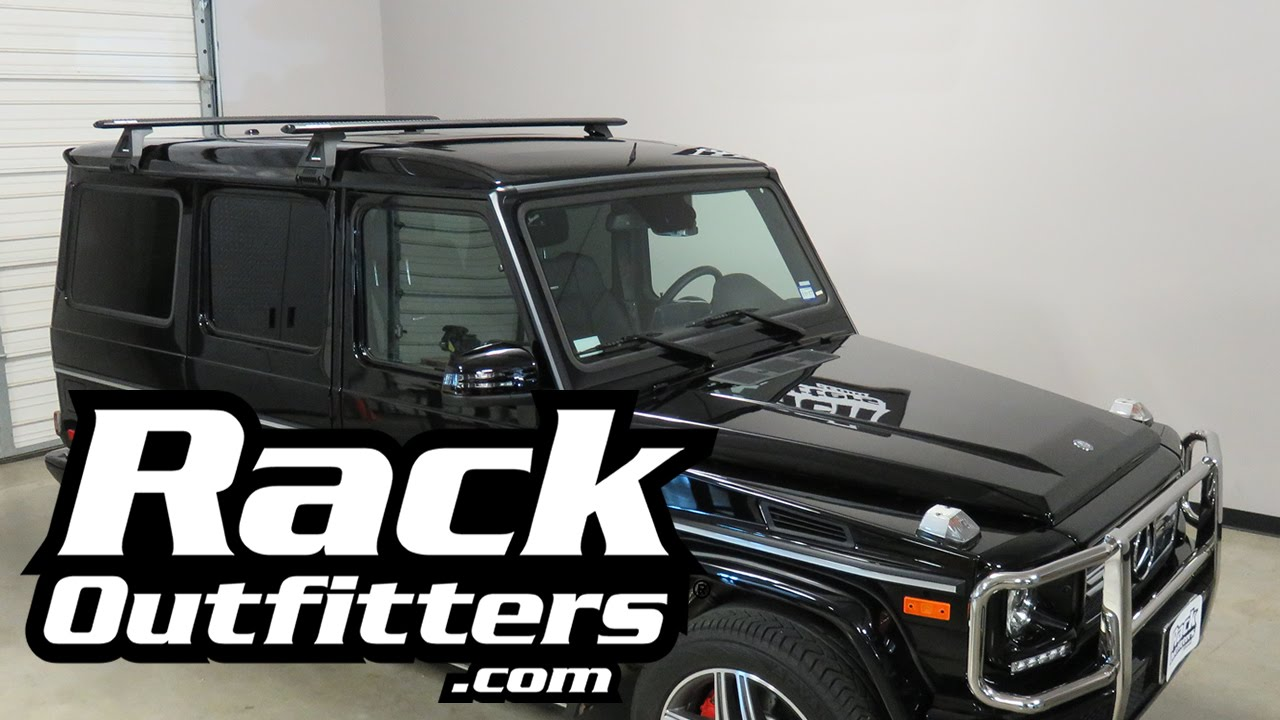 Mercedes Benz G Class with Rhino Rack Vortex RL150 Roof