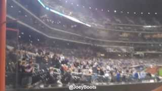NY Mets and Fans Pay Tribute To Boston Upon Hearing of 2nd Bomber Capture
