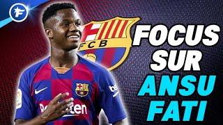 Ansu Fati, le nouveau joyau de 16 ans du FC Barcelone