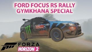 FORD FOCUS RS | RALLY GYMKHANA SPECIAL | KEN BLOCK STYLE
