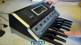 Vintage Synthesizers I Moog Taurus 1