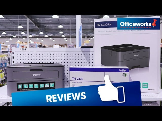 Brother Mono Laser Printer Hl L2305w Overview Youtube