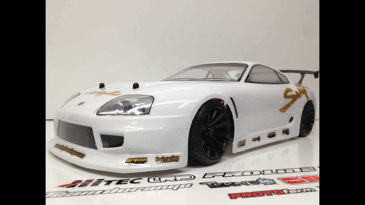 Hpi Sprint Get My Drift Toyota Supra Body Youtube