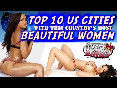 10 US States with the Country's most Beautiful Women: Passport Kings Travel Video