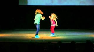 Impact Kids -дуэт (Rihanna- Rock me out, s&m) #Everysinglestep   Impact Dance Studio