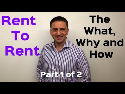 How does Rent To Rent work? Part 1 of 2 - The Saj Hussain Show - Episode #005