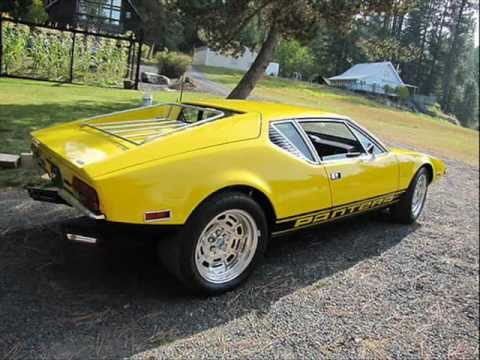 Ford Pantera For Sale >> For Sale 1972 Detomaso Pantera - YouTube